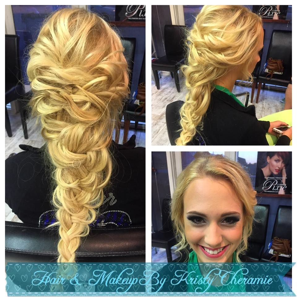 They totally nailed Elsa with this gorgeous braid! | Hair:  Kristy Cheramie Artistry  |  Photo Credit