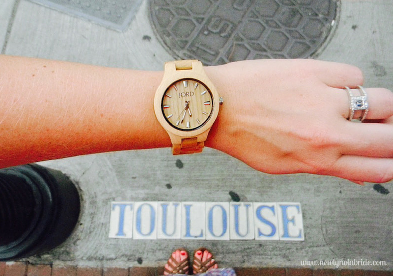 Jord Wood Watch Giveawy! The perfect give for a New Orleans bride!