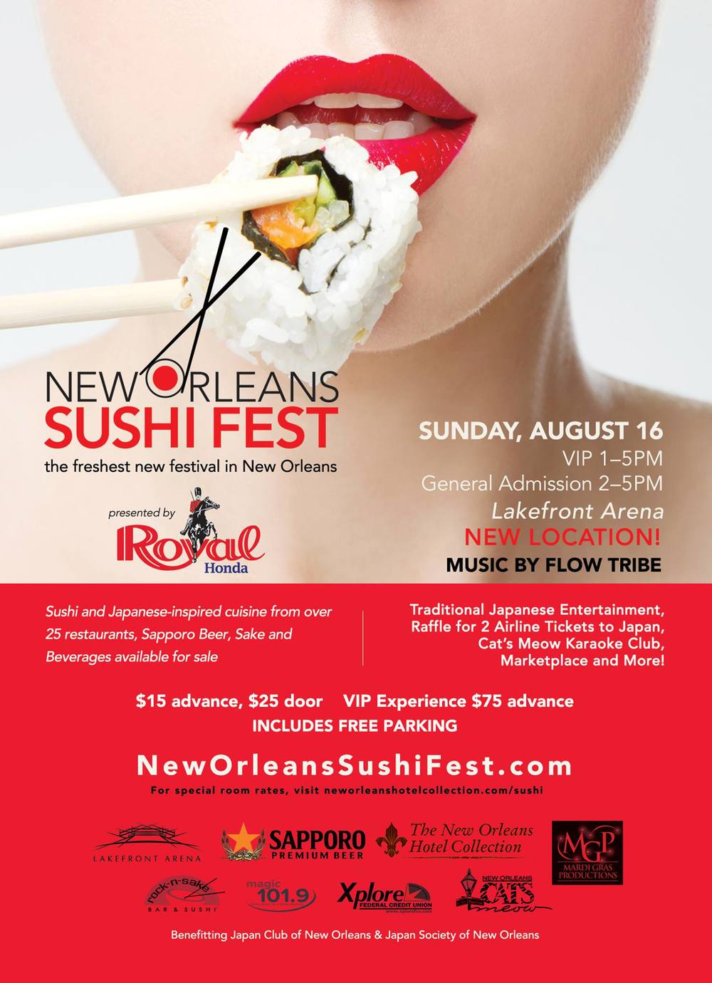 Photo Credit:  New Orleans Sushi Fest