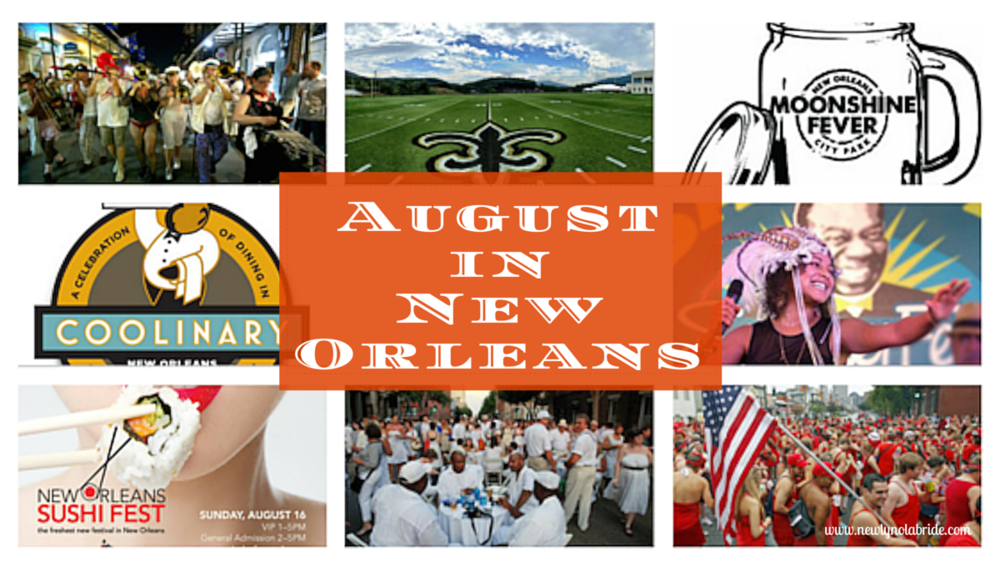 August In New Orleans