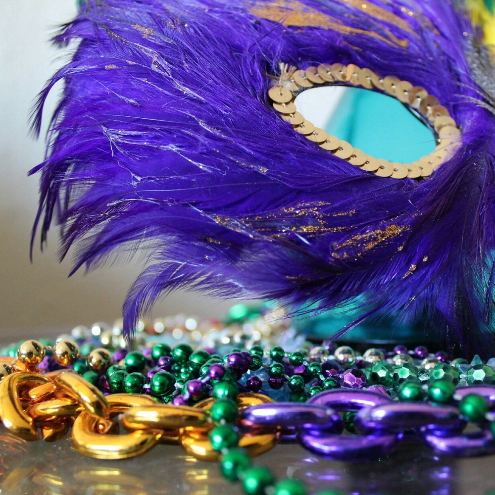 disguise group on mardi venetian of background beads photo dark carnival mask stock with gras and