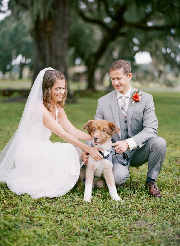 Isn't he just adorable?  |  Photo by  Emily Katharine Photography  via  Ruffled Blog