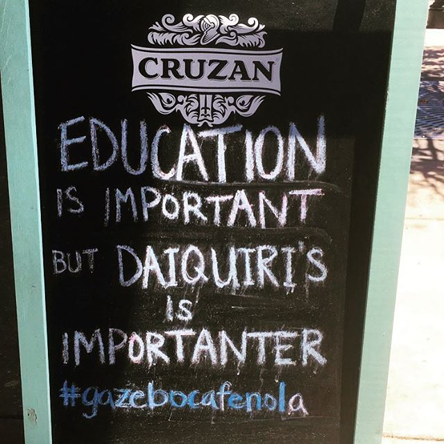 Venue visits, meetings and French Quarter errands. #wordstoliveby