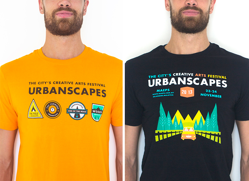 Urbanscapes tees