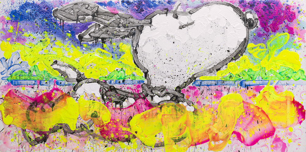 Papa Don't Take No Mess | acrylic on canvas | 42″ x 84″ | 2014