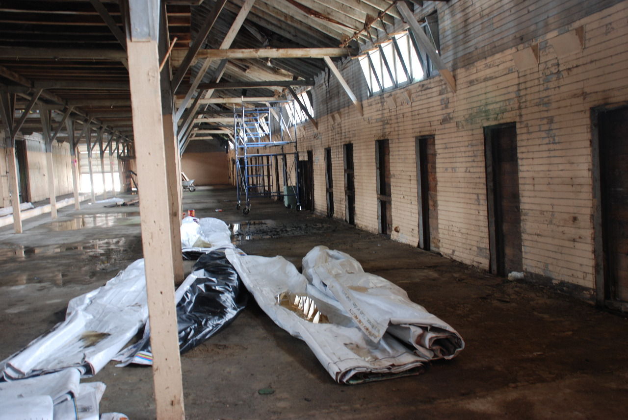 Barn Interior 011308
