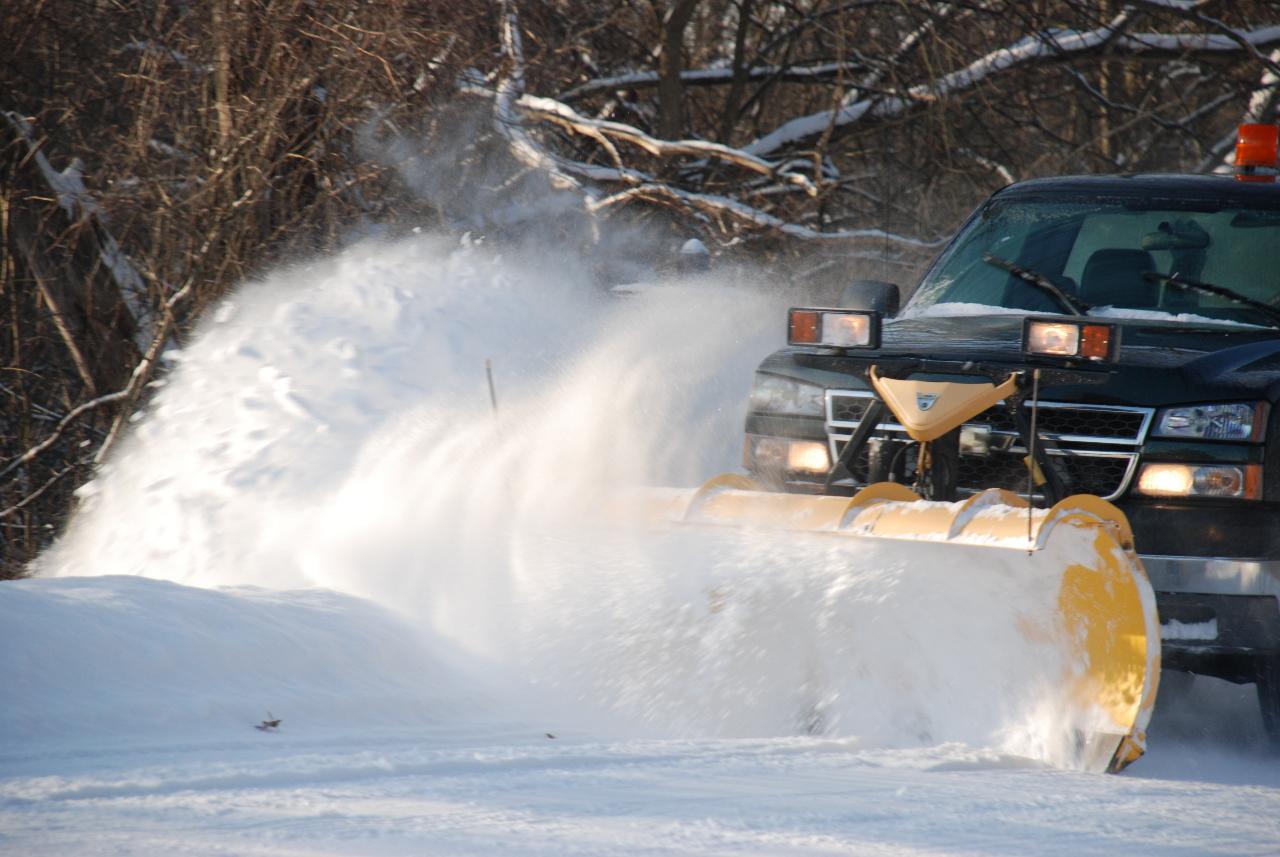Snow Plow Truck 2 030108