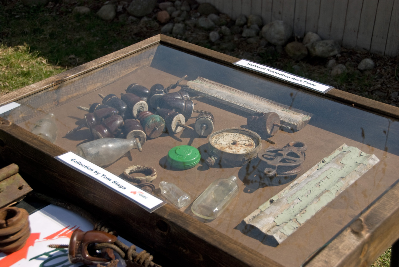 FOHRA Member Tom Slaga's Colelctuion of Interesting Finds from the Highland Recreation Area