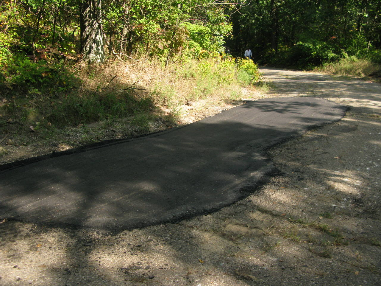 Repair Asphalt Section