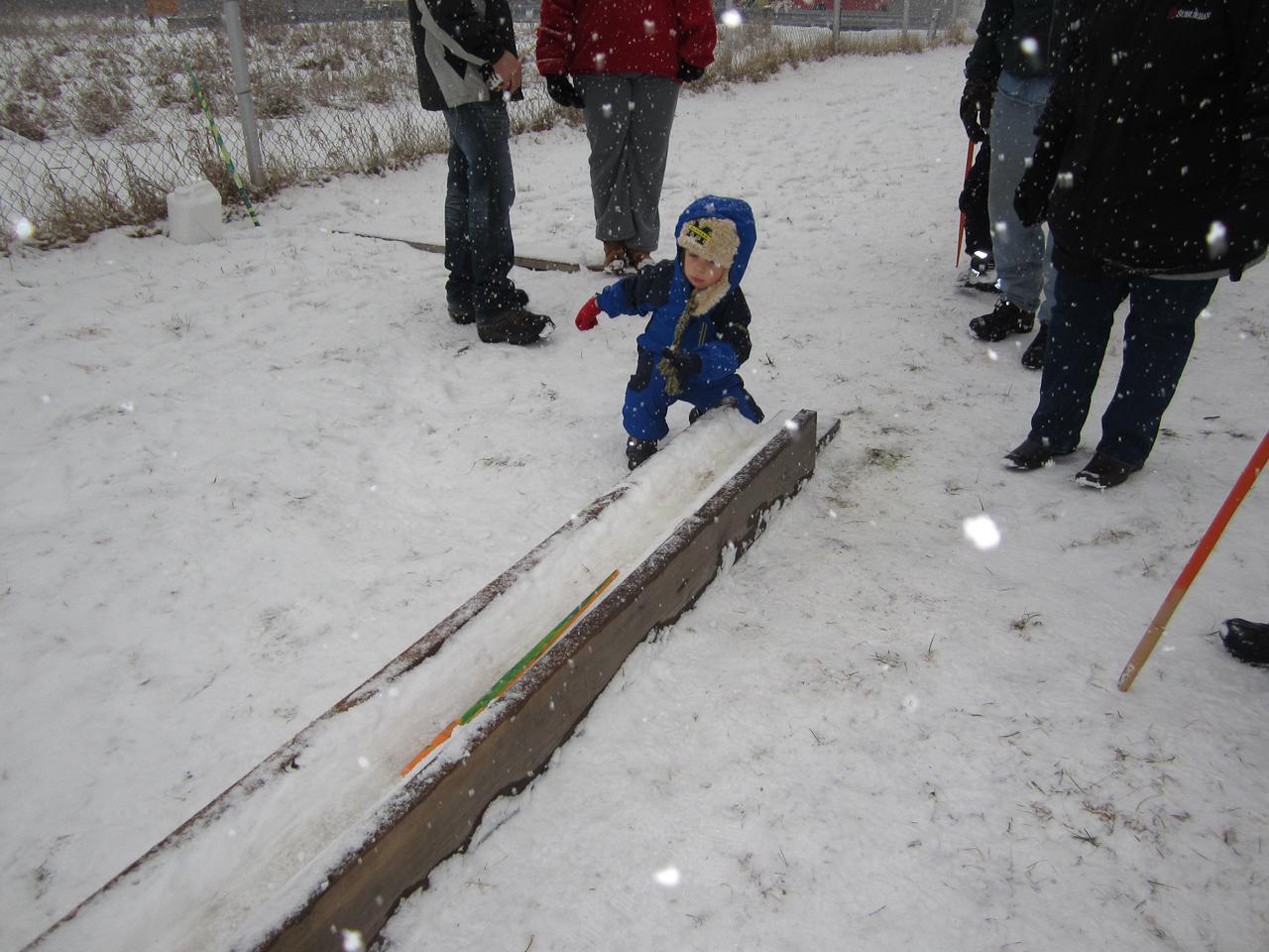 Snow Snake Loose!