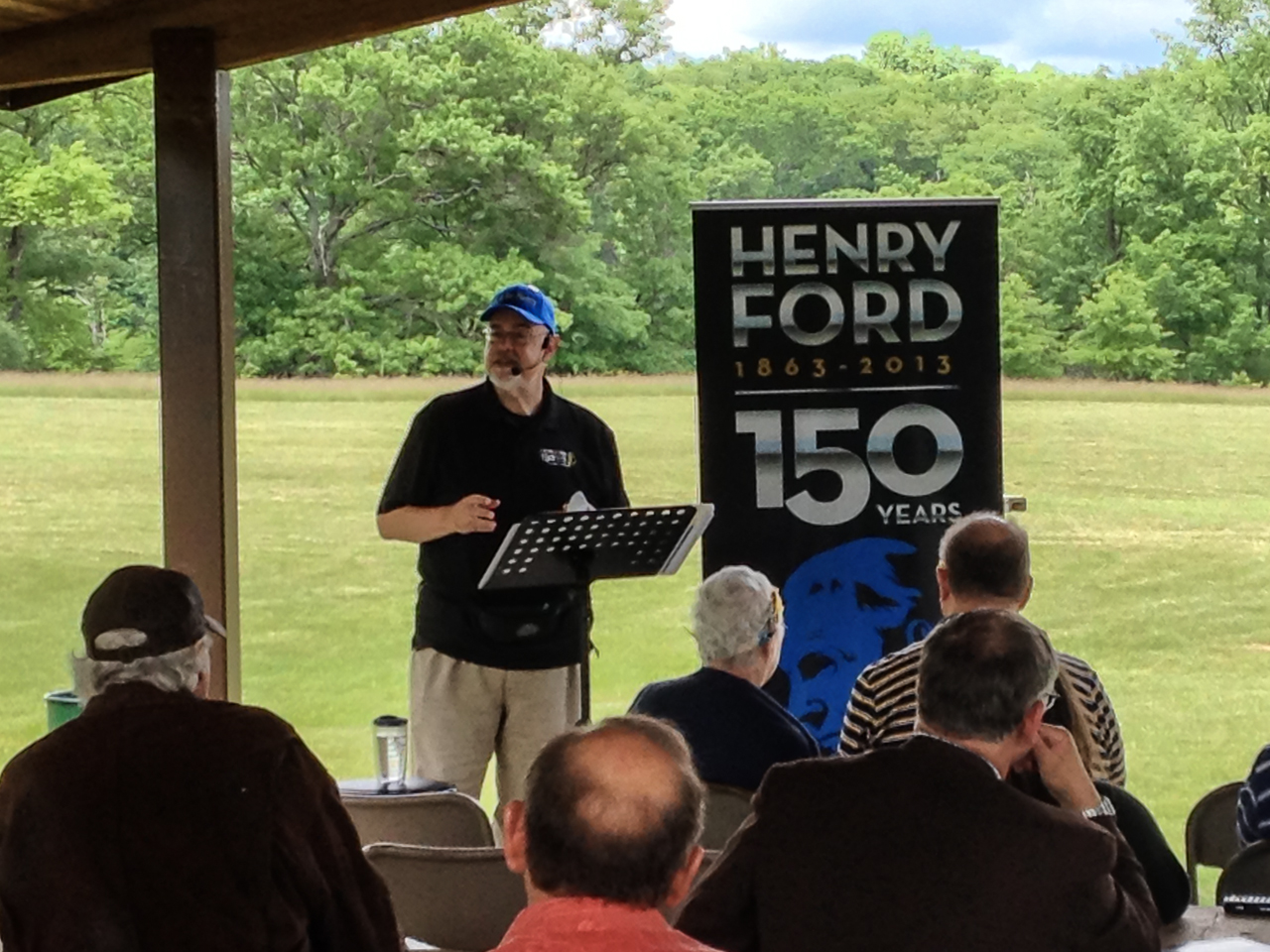FOHRA Ford 150th Haven Hill Speaker Steve Stanford - IMG_0945