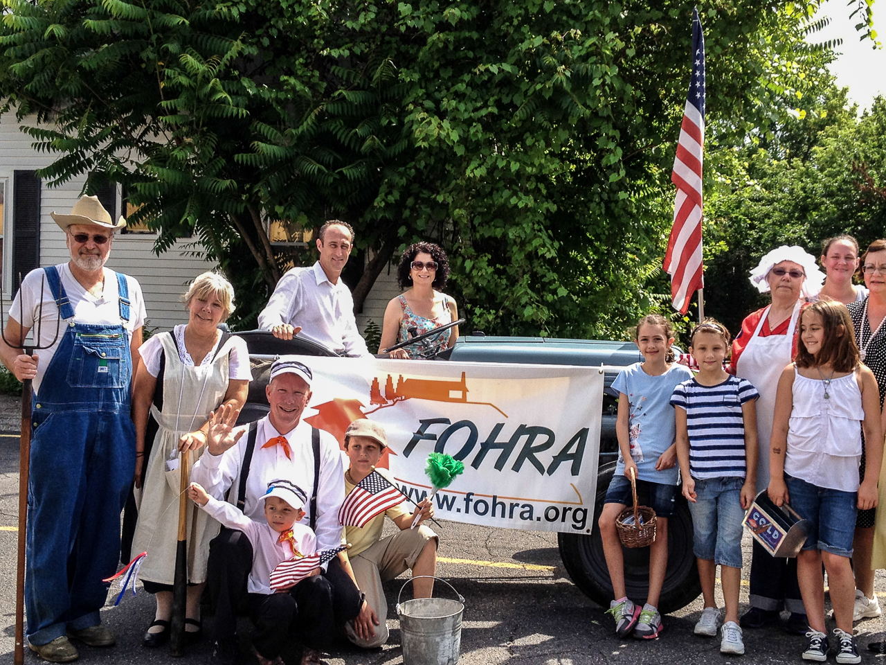 FOHRA Group Milford 4th Parade 2013IMG_1346