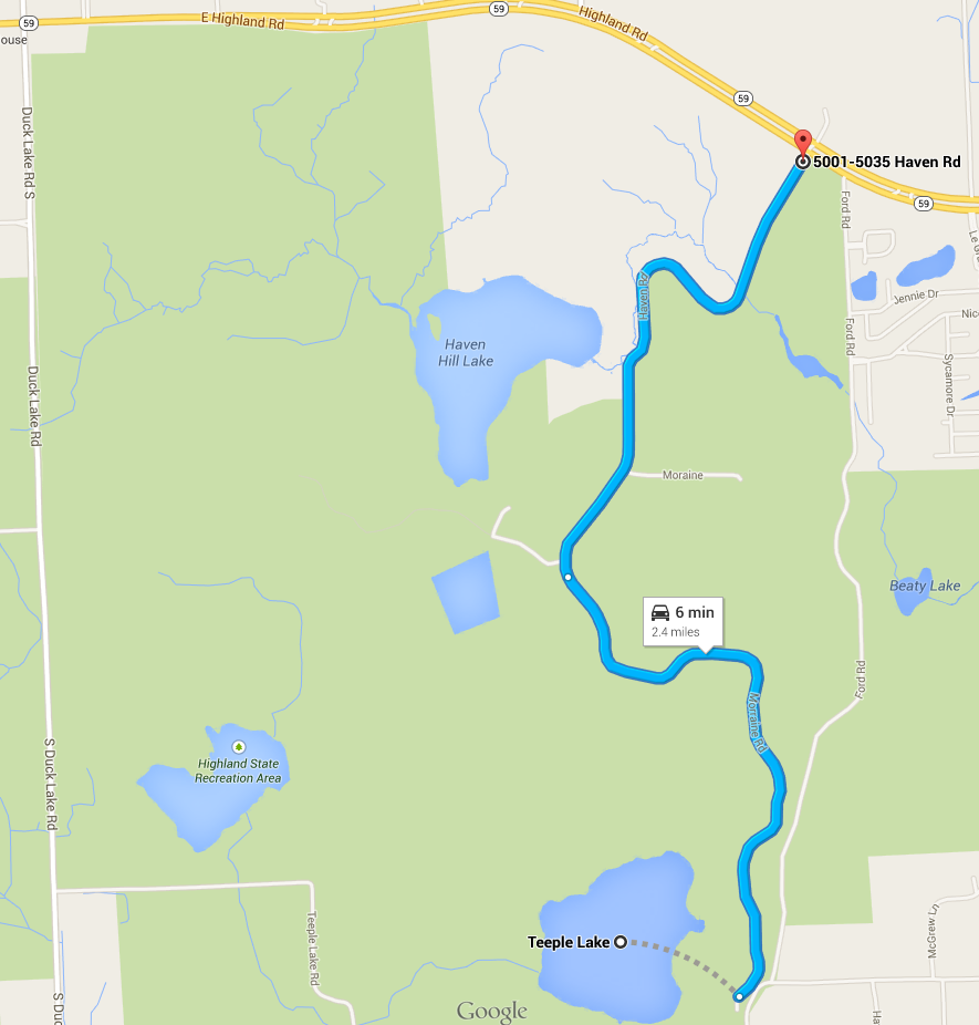 Cedar Creek Trail Map Google