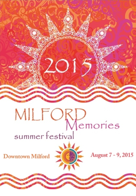The summer Festival in downtown Milford, Michigan.