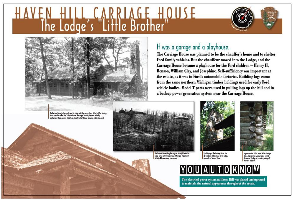Haven Hill Carriage House MotorCities Sign