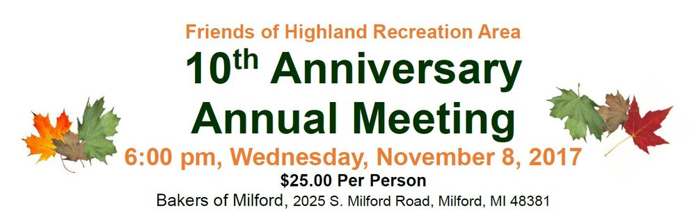 PURCHASE YOUR ANNUAL MEETING DINNER TICKETS AT OUR WEBSITE