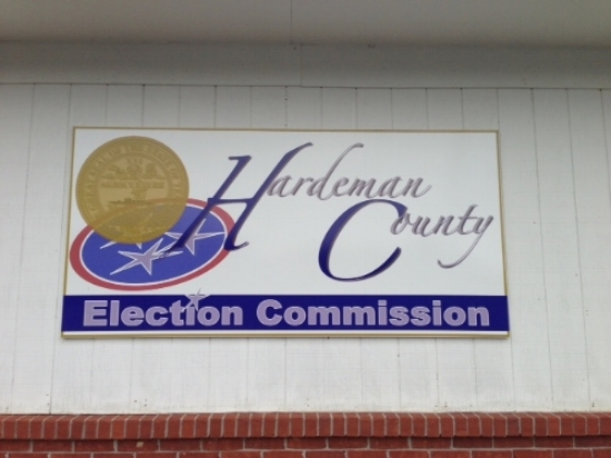 The outside of Hardeman County's election office. Photo courtesty of the Hardeman County Election Commission.