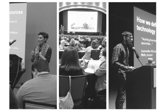 CTCL team members speaking in Kansas, Missouri, and Virginia