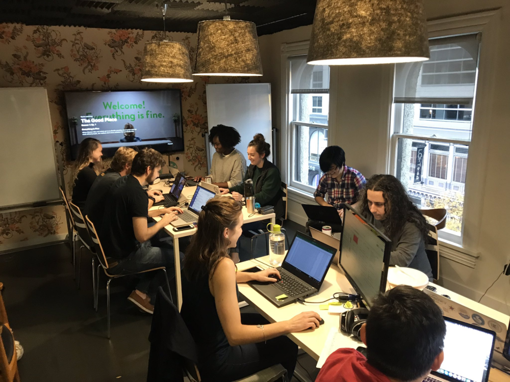 CTCL civic data team on Election Day 2018