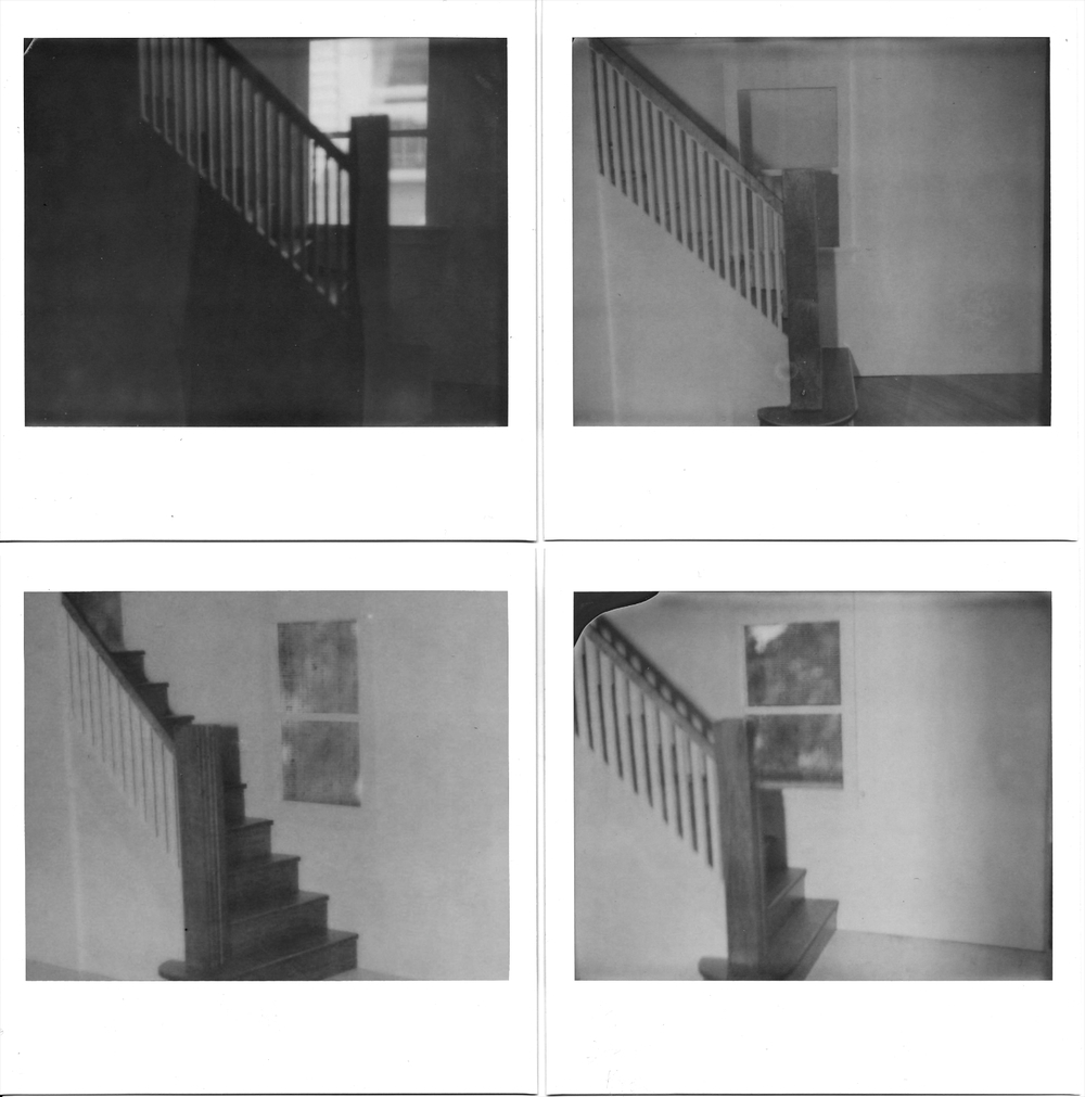 polaroids, giclée print