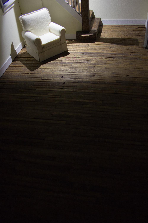 wood structures, giclée print