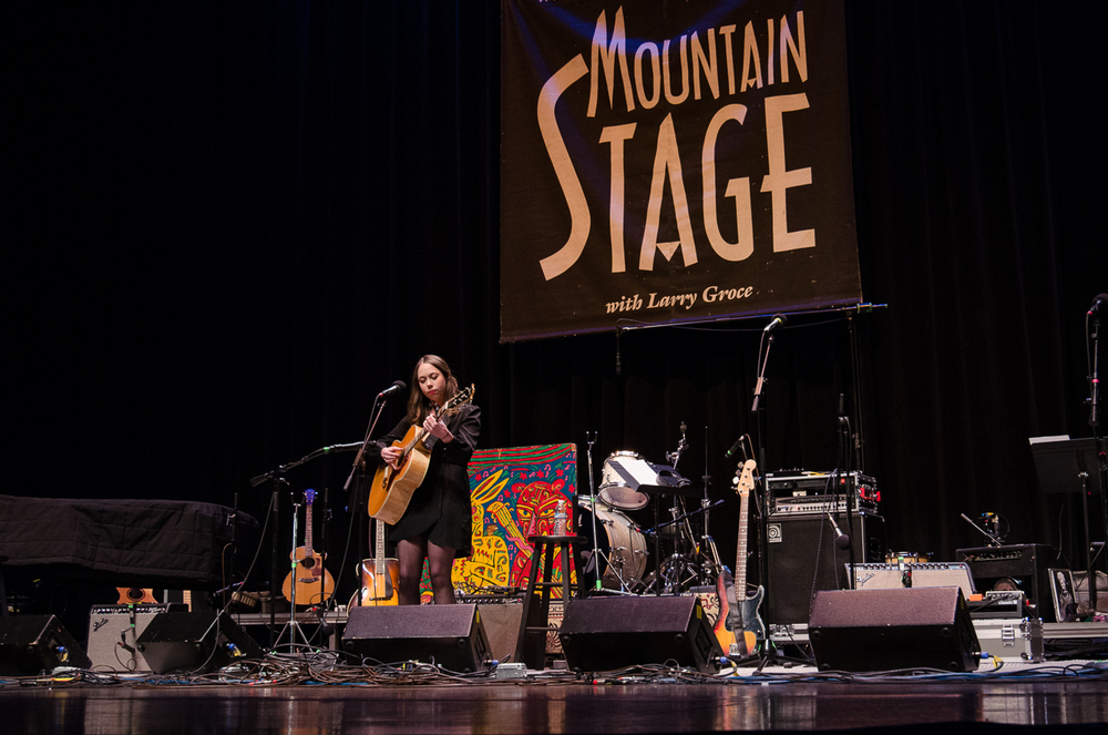 Sarah Jarosz Mountain Stage 2016