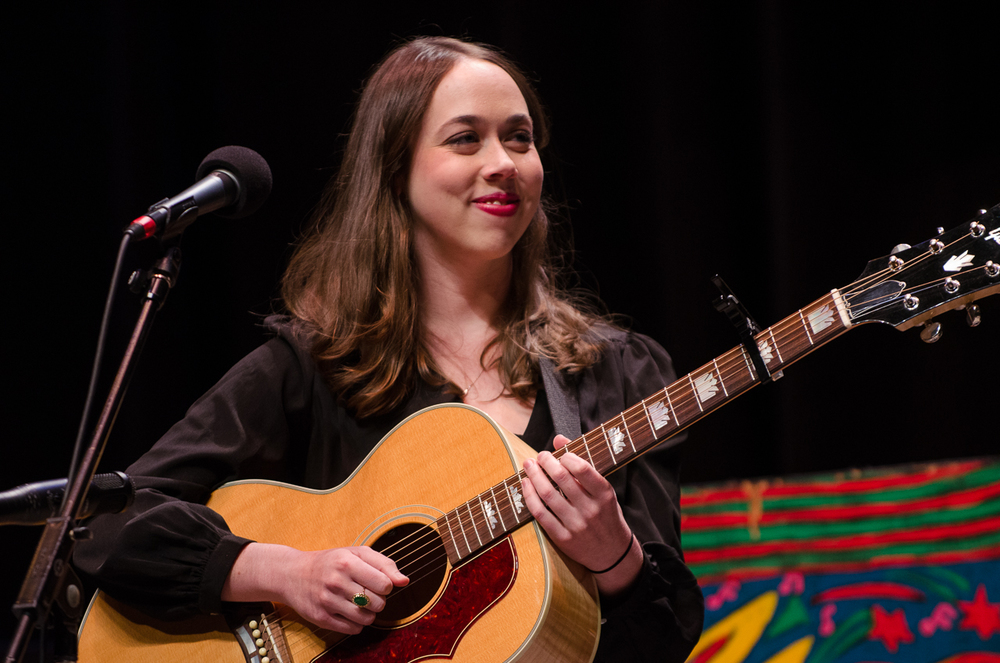 Sarah Jarosz guitar Mountain Stage live