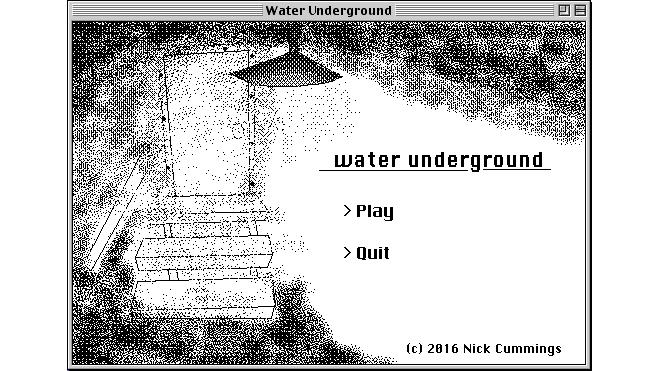 water-underground