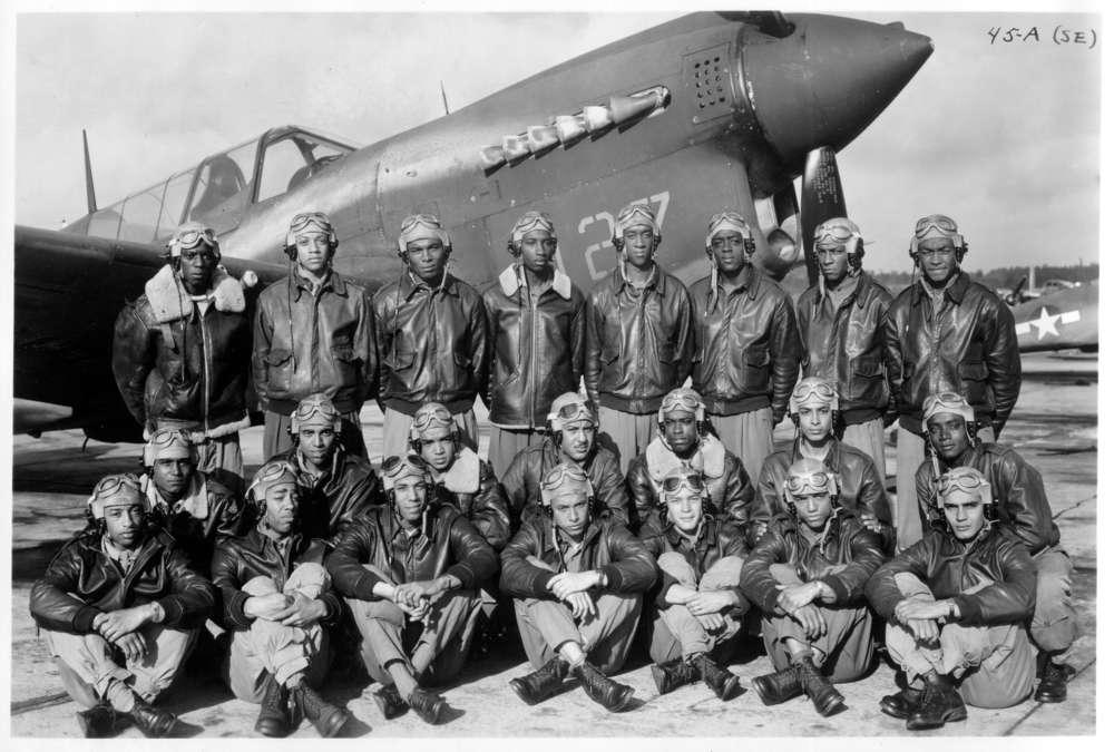 Tuskegee Airmen, WWII