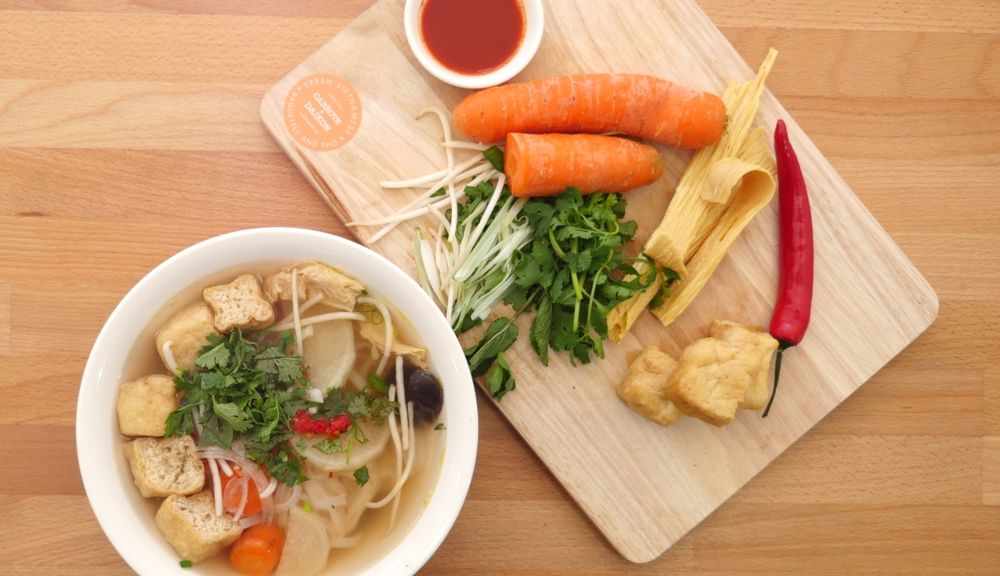 Vegetarian Pho                                                                                                                                         Photography by Stephen Michetti