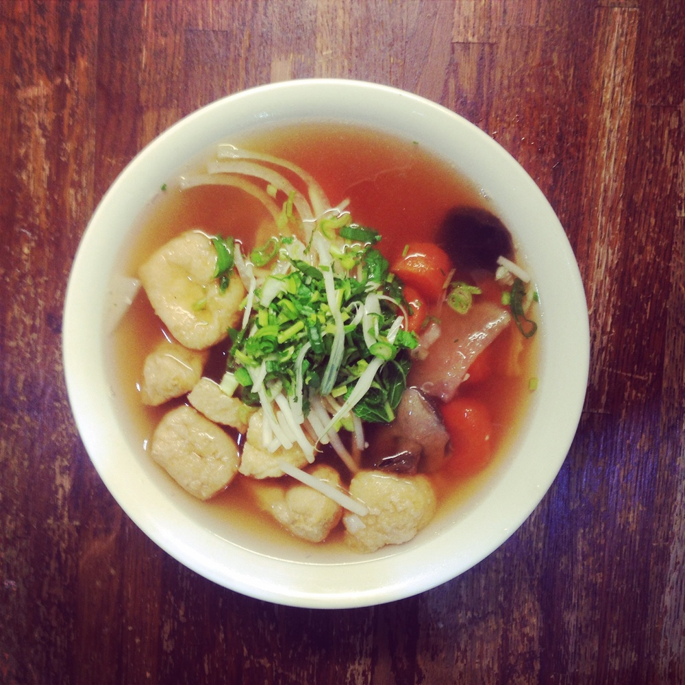 Gluten-Free Vegetarian Pho, the perfect winter comfort food