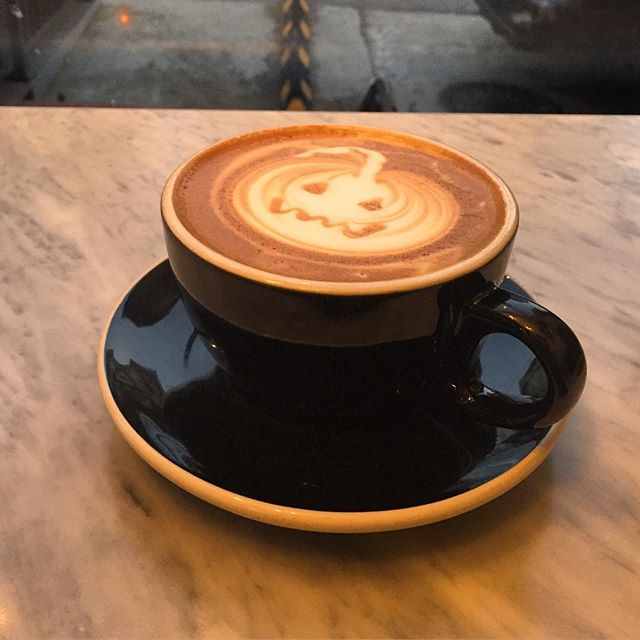 Happy Halloween! 🎃🎃🎃 #latte #latteart #pumpkin #halloween