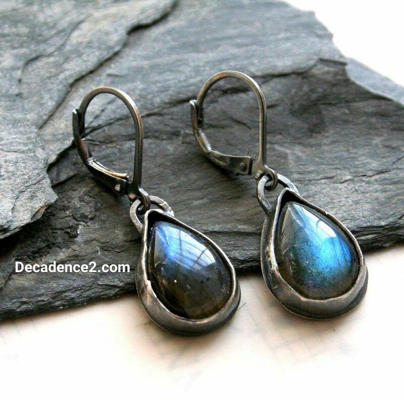 decadence2dotcom labradorite earrings
