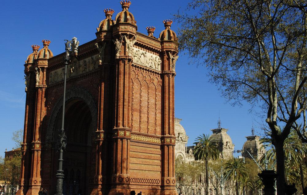 Barcelona's Arc di Triomf