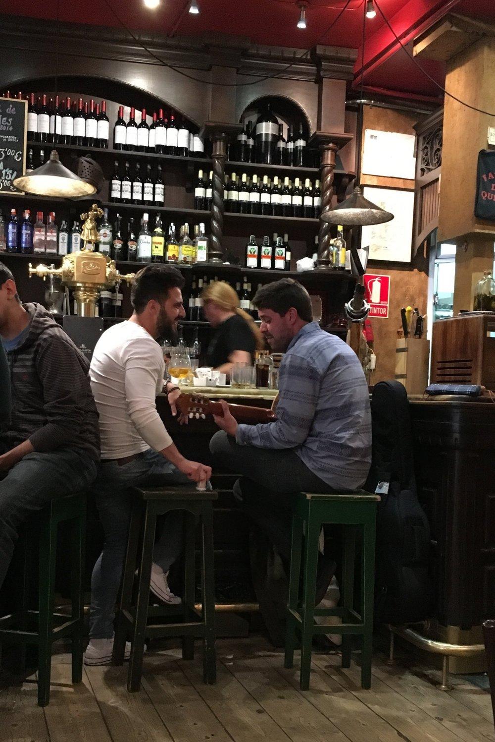 Musicians at Fatigas del Querer