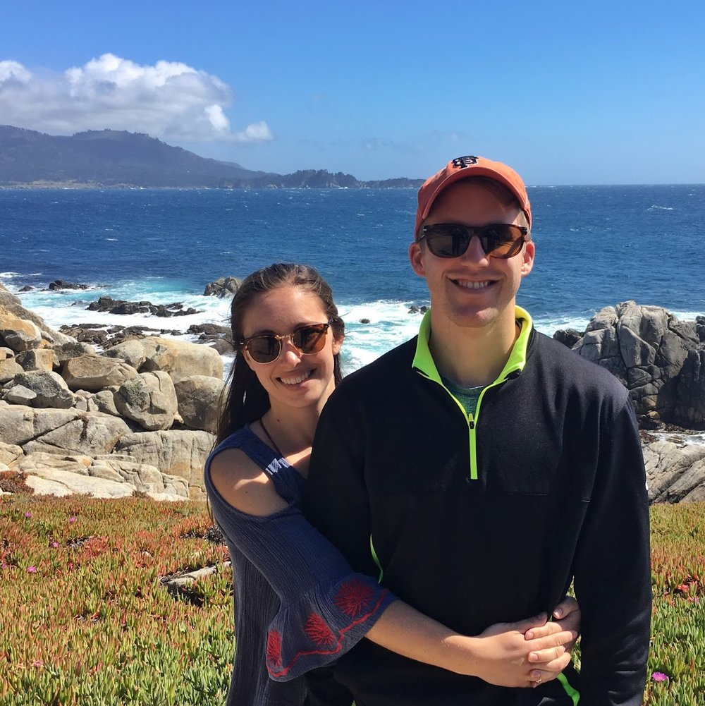 A stop along 17-Mile Drive
