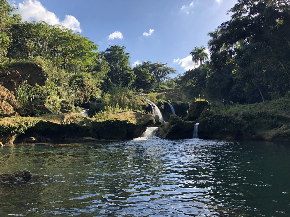 El Nicho - A natural park in the Escambray Mountains