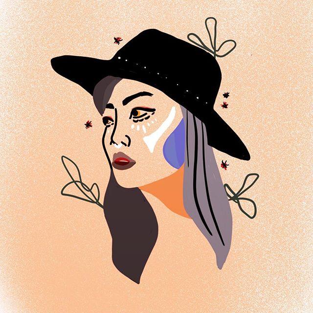 Big witch energy ✨🖤 #procreate #illustration