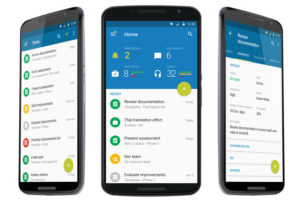 Clarizen Android