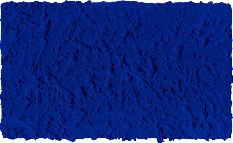 we love Yves Klein