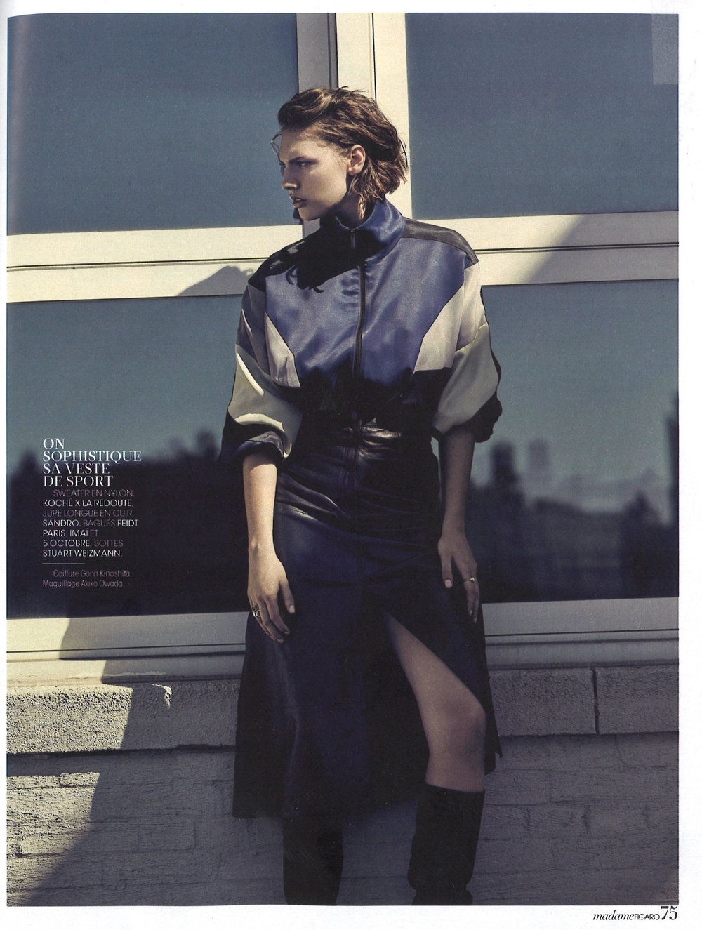 KOCHÉ IN MADAME FIGARO