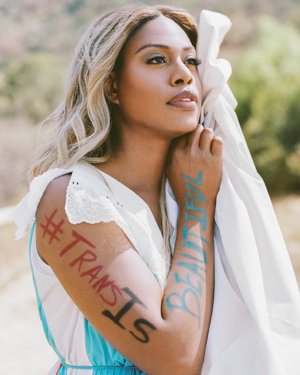 LAVERNE COX IN KOCHÉ IN SELF MAGAZINE