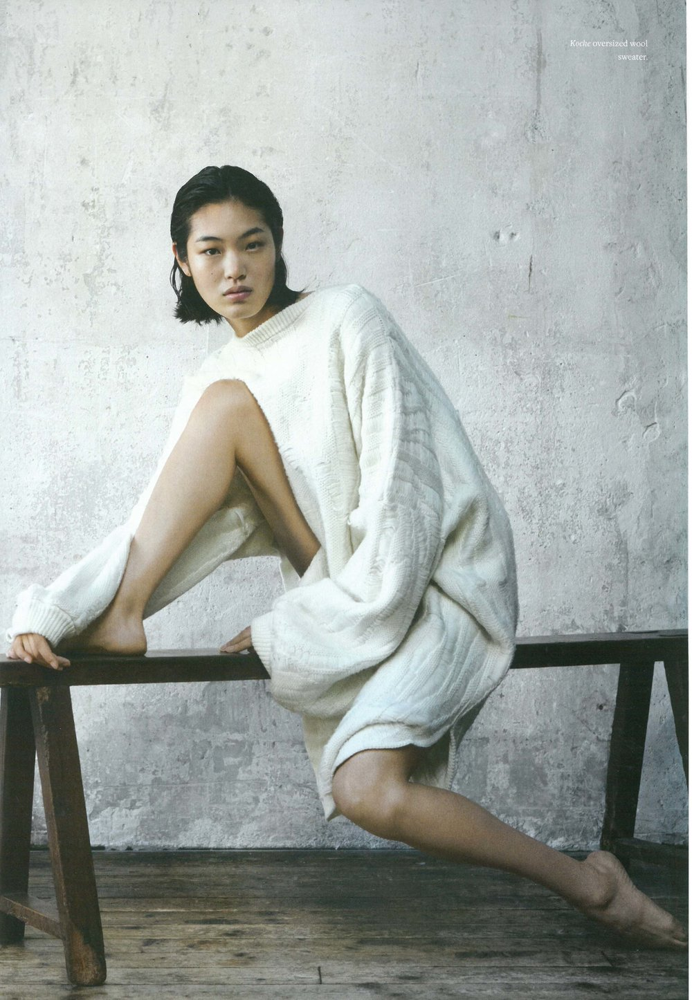 KOCHÉ IN WOOL MAGAZINE