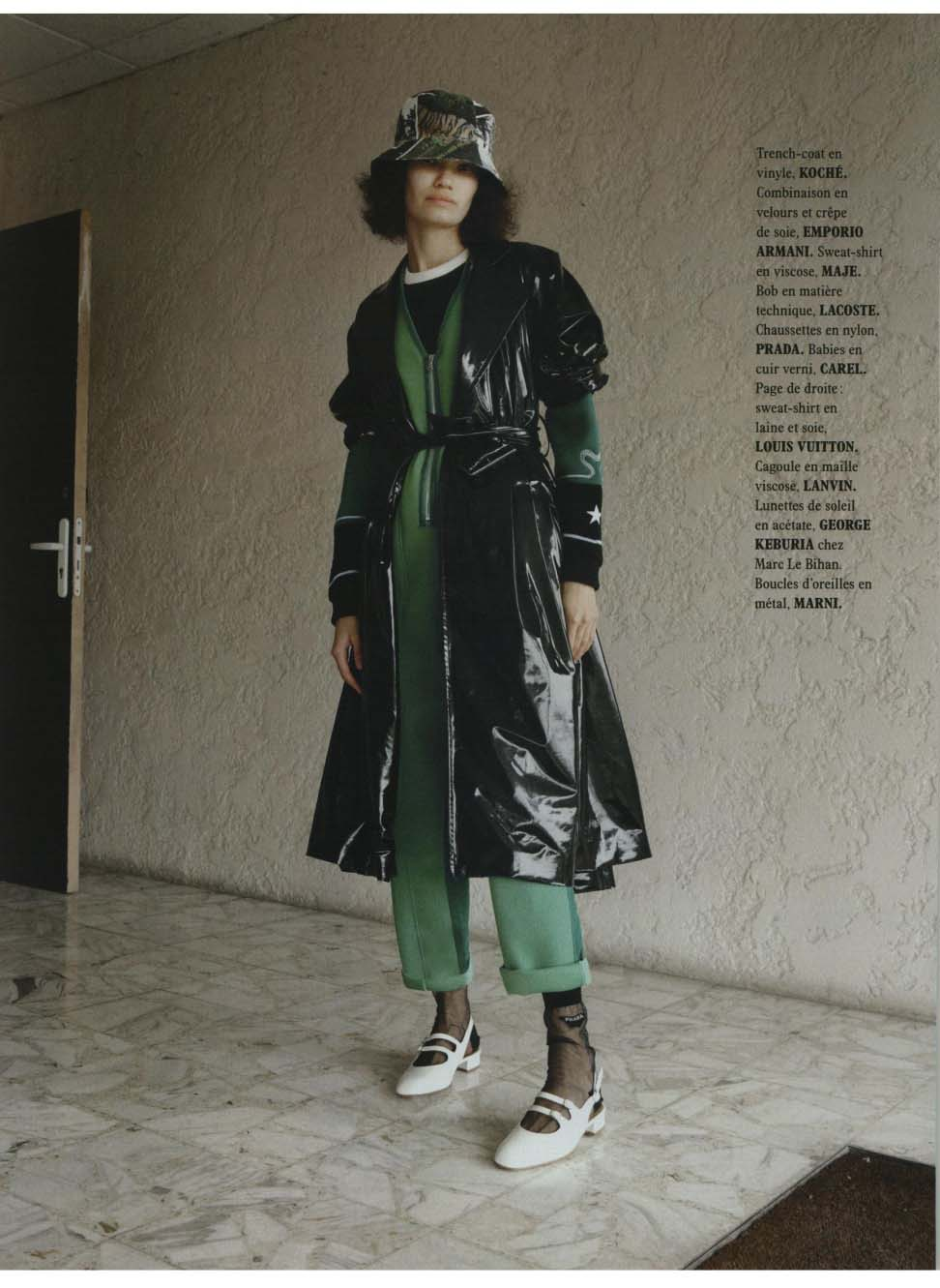 KOCHÉ IN L OFFICIEL USA