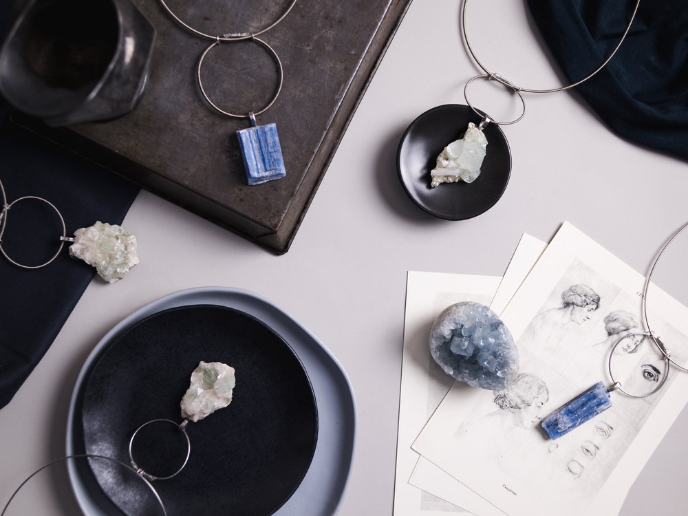 crystals - explore the therapeutic benefits of the crystals & stones we're using in our jewelry