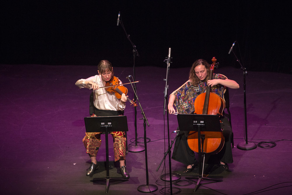 music & art - interviews with our whose strings musicians, chapbook poets, photographers, & more