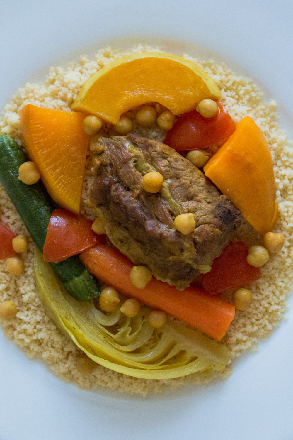 Moroccan 7 Vegetables Couscous
