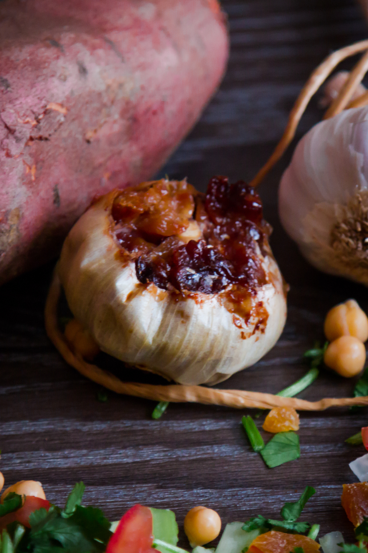 Moroccan Shepherd's Pie with Roasted Garlic Sweet Potato ...