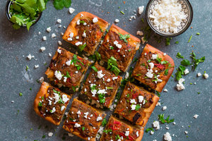 Vegetarian dishes and grains my moroccan food zaalouk focaccia forumfinder Gallery