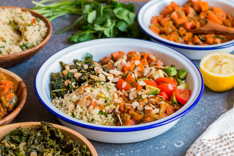 Moroccan Medley Salad Bowl
